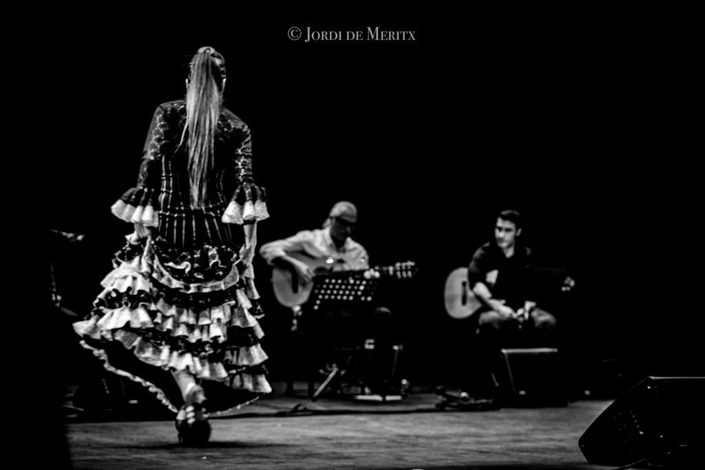 En tiempos de Coronavirus, bailando flamenco